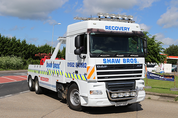 SHAW RECOVERY DX07 VAD J9 TRUCKSTOP FLAMSTEAD 10.6 (1)